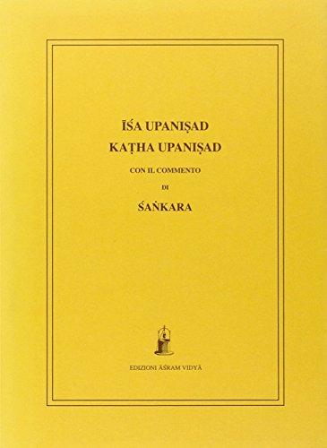 Isa e Katha Upanisad con il commento di Sankara (8885405649) by [???]