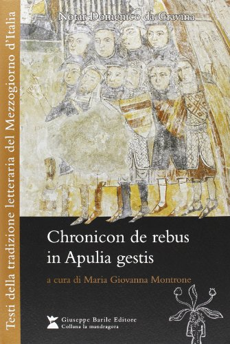 9788885425613: Chronicon de rebus in apulia gestis