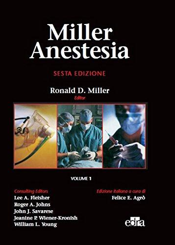 9788885675889: Miller Anestesia. Ediz. illustrata
