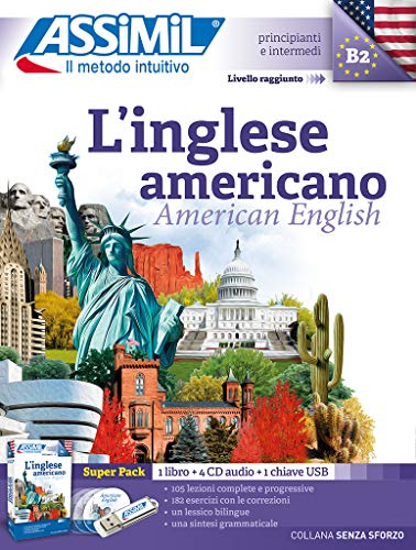 9788885695290: L'inglese americano. Con 4 CD-Audio. Con USB Flash Drive