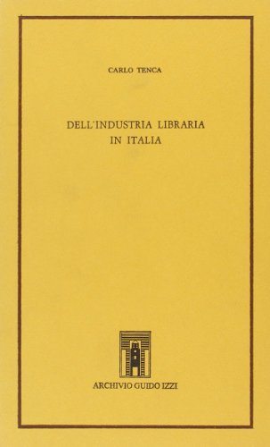 Dell'industria libraria in Italia