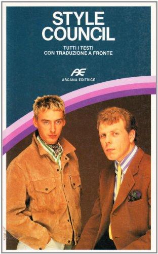 Style Council.: Calovolo,Alessandro (intervista esclusiva).