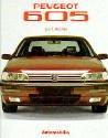 9788885880276: Peugeot 605