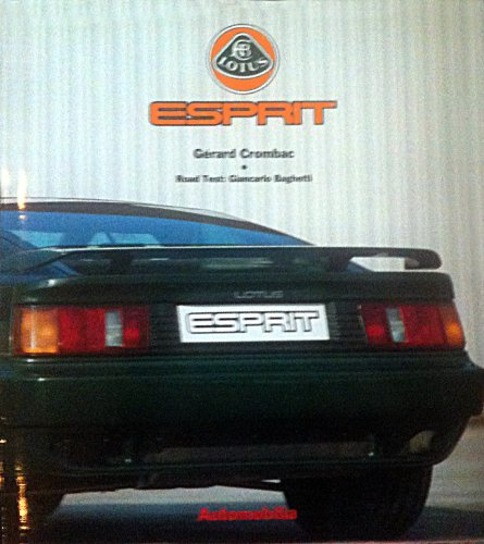 Lotus Esprit (New Great Car Series, Volume 28)