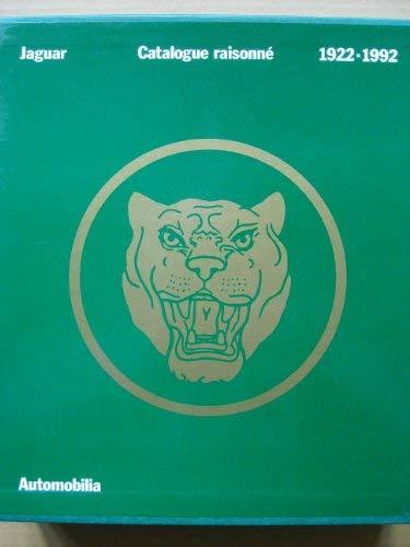 9788885880429: Jaguar Cataloguer Raisonne 1922-1992 (Two volumes)
