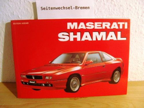 9788885880931: Maserati Shamal. Ediz. tedesca