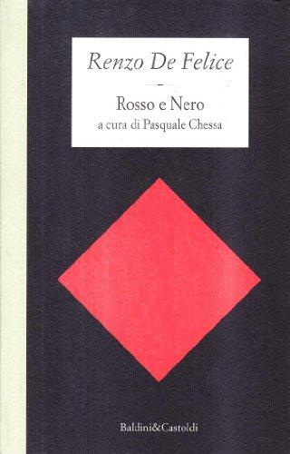 9788885987951: Rosso e Nero (Le isole) (Italian Edition)