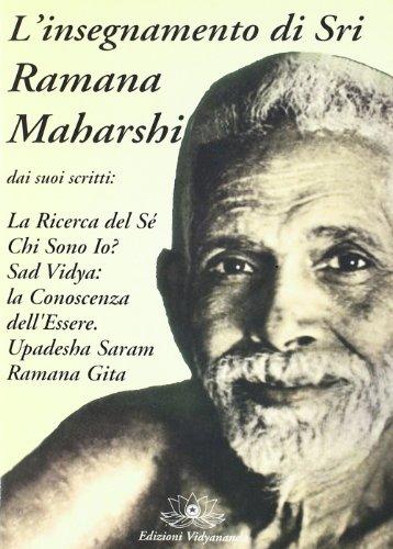 9788886020350: L'insegnamento di sri Ramana Maharshi