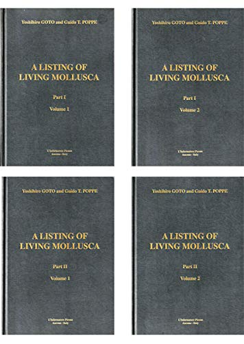 9788886070232: A listing of living Mollusca (Tools in malacology)