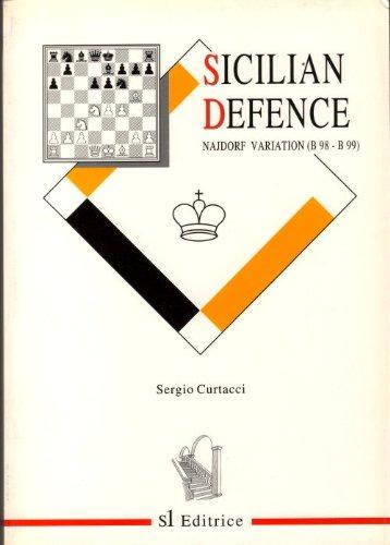 Sicilian Defence : Najdorf Variation (B98-B99): Curtacci, S.