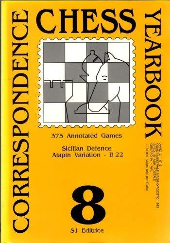 CORRESPONDENCE CHESS YEARBOOK #9 (Nine): Correspondence Tournament: Curtacci, S. (Supervisor)/Tirabassi,