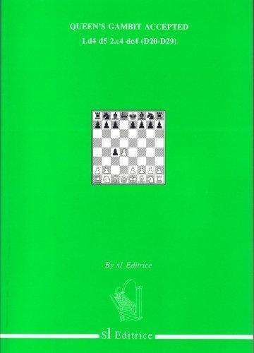 9788886127349: Queen's Gambit Accepted: 1.d4 d5 2.c4 dc4 (D20-D29)