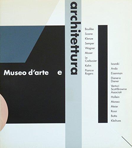 9788886158008: Museo d'arte e architettura (Italian Edition)