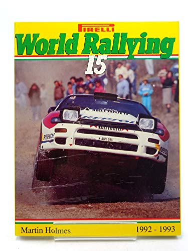 9788886199018: Pirelli World Rallying