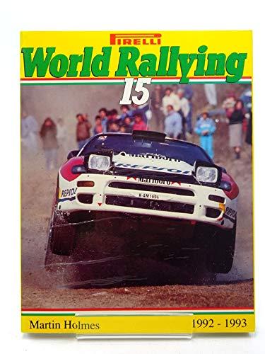 9788886199018: Pirelli World Rallying: No. 15