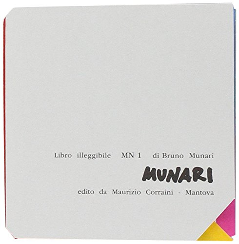 Libro illeggibile «MN 1»: Bruno Munari