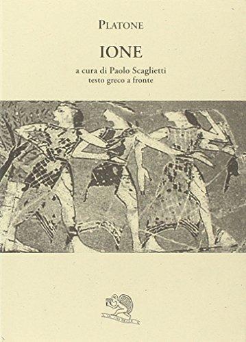 Ione (Testo greco a fronte): Platone