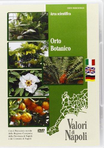 9788886319010: Orto botanico. Ediz. italiana, inglese e tedesca. DVD