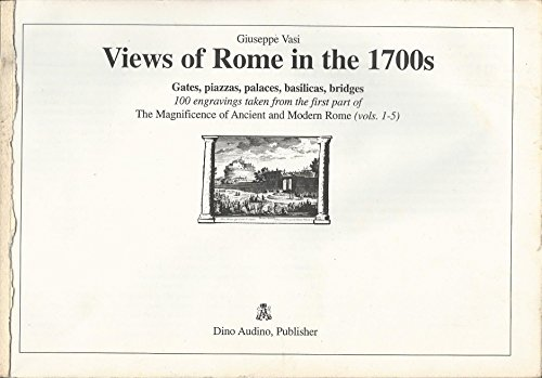 Views of Rome in the 1700s: Giuseppe Vasi