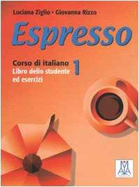 Espresso 1 (Italian Edition) (8886440308) by Luciana Ziglio