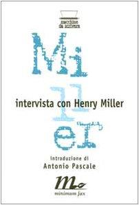 9788886568852: Intervista con Henry Miller