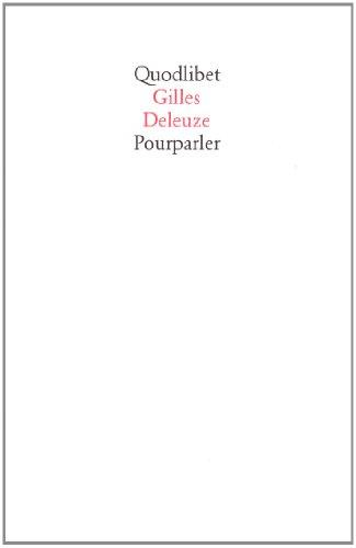 9788886570640: Pourparler 1972-1990