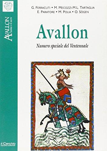 9788886583848: Avallon. Numero speciale del ventennale