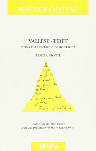 Vallese-Tibet: Icona Dei Contadini Di Montagna --: Chappaz, Maurice