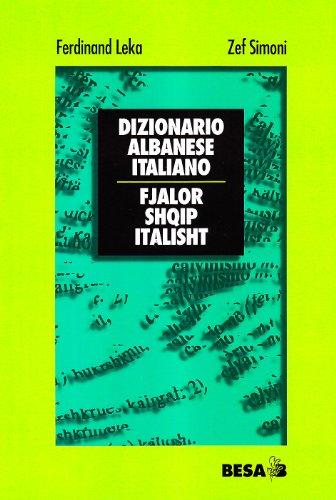 9788886730198: Dizionario albanese-italiano