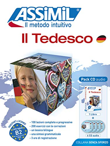 9788886968539: Il tedesco. Con 4 CD Audio (Senza sforzo)