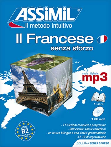 9788886968867: Assimil Pack MP3 Francese (French for Italian Speakers) Book plus CD MP3 (French Edition)