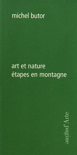 9788886995702: Art et nature étapes en montagne
