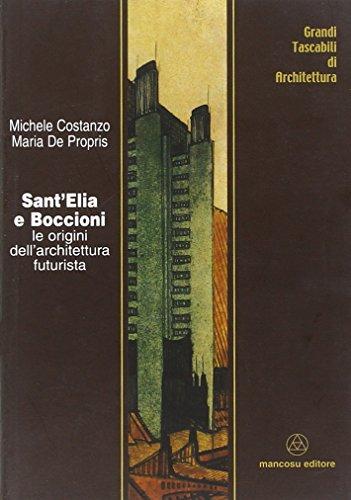 9788887017328: Sant'Elia e Boccioni