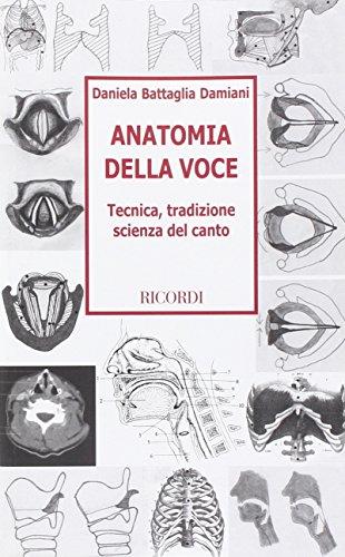 9788887018226: Anatomia Della Voce