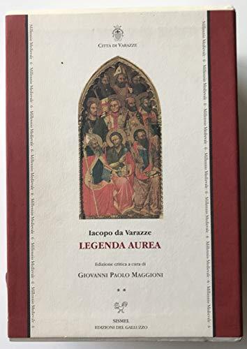 9788887027259: Legenda aurea (Millennio medievale)