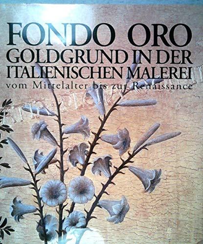 9788887090819: Goldgrund in der ital. Malerei