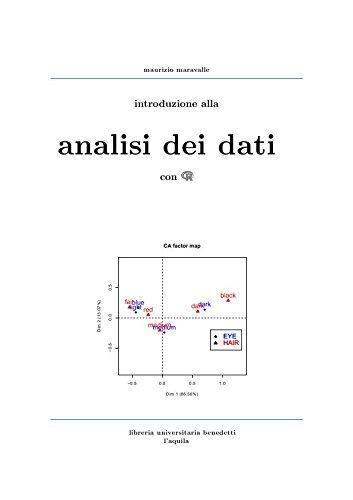 9788887182217: Introduzione alla analisi dei dati con R