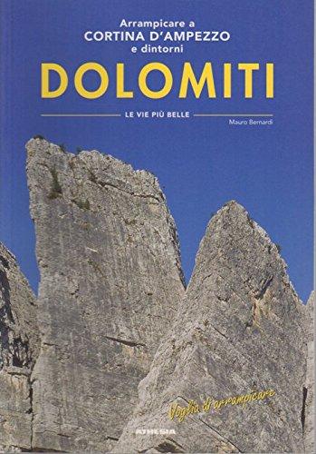 9788887272956: Arrampicare a Cortina d'Ampezzo. Ediz. italiana e tedesca