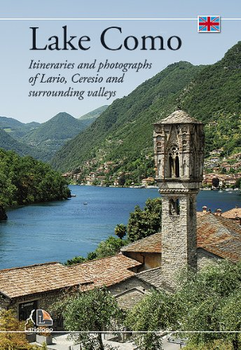 9788887284584: Lake Como - Itineraries and photographs of Lario, Ceresio and surrounding valleys
