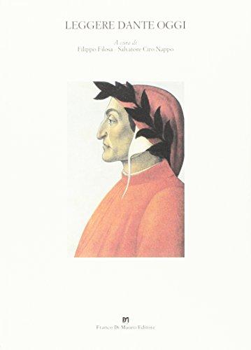 Leggere Dante oggi: Filippo Filosa; Salvatore
