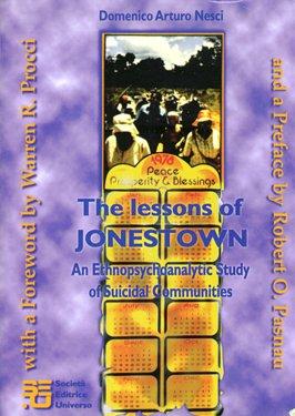 The Lessons of Jonestown: Nesci, Domenico Arturo