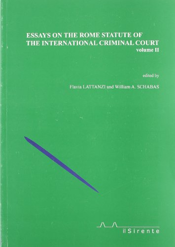 9788887847024: Essays on the Rome statute of the international criminal court