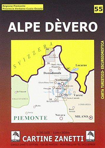 9788887982428: Alpe Dèvero 1:30.000