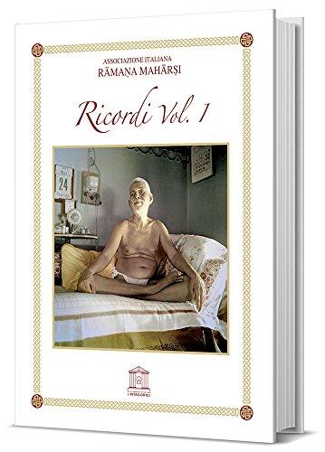 9788888036045: Ramana Maharshi. Ricordi. Volume 1
