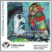 L'isola del tesoro. Audiolibro. CD Audio formato: Stevenson, Robert L.
