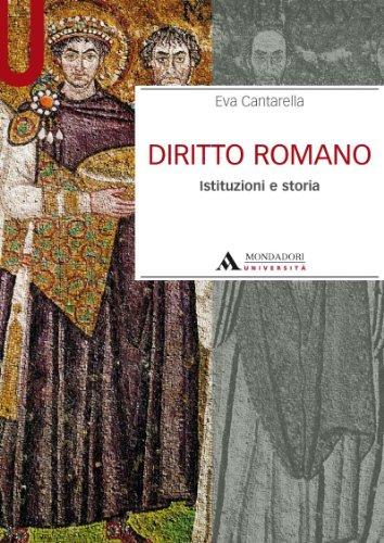 9788888242989: Diritto romano. Istituzioni e storia