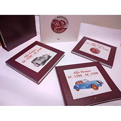9788888269429: Alfa Romeo 6C 2300, 6C 2500