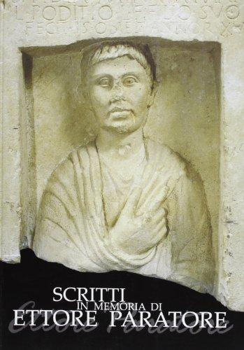 9788888340722: Scritti in memoria di Ettore Paratore