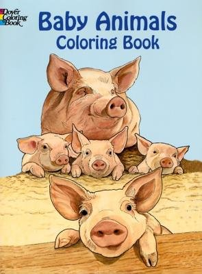 9788888842172: Baby Animals Coloring Book