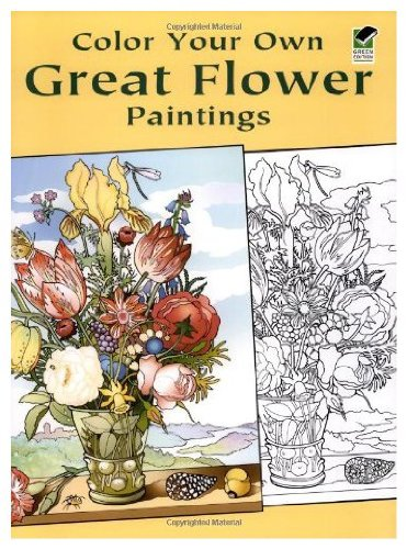 9788888846682: Color Your Own Great Flower Paintings